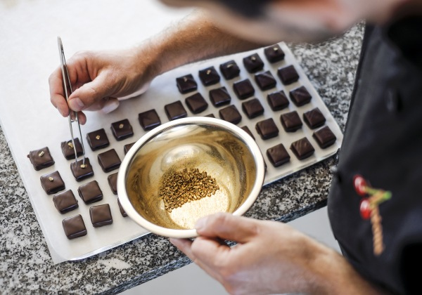 décoration chocolat artisan